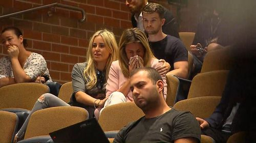 The disposed Australian vice-captain apologised to his wife and family for the effects his actions have had on them in light of the scandal. Picture: 9NEWS.