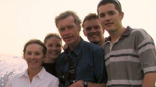 Jill, Amanda, Roger, Paul and David Guard. Picture: Supplied