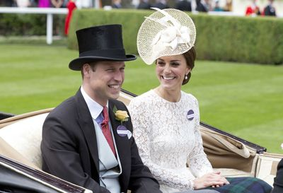 The Duke and Duchess of Cambridge at Royal Ascot 2017