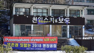 'Olympics kill us': Village that's unhappy hosting Winter Games