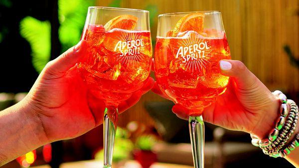 Aperol is giving away 100,000 free Spritzes