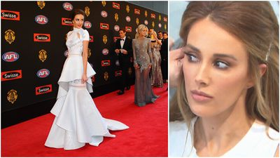Bec Judd spills details about her Brownlow 'comeback' dress