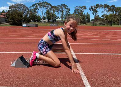 Molly's Run training