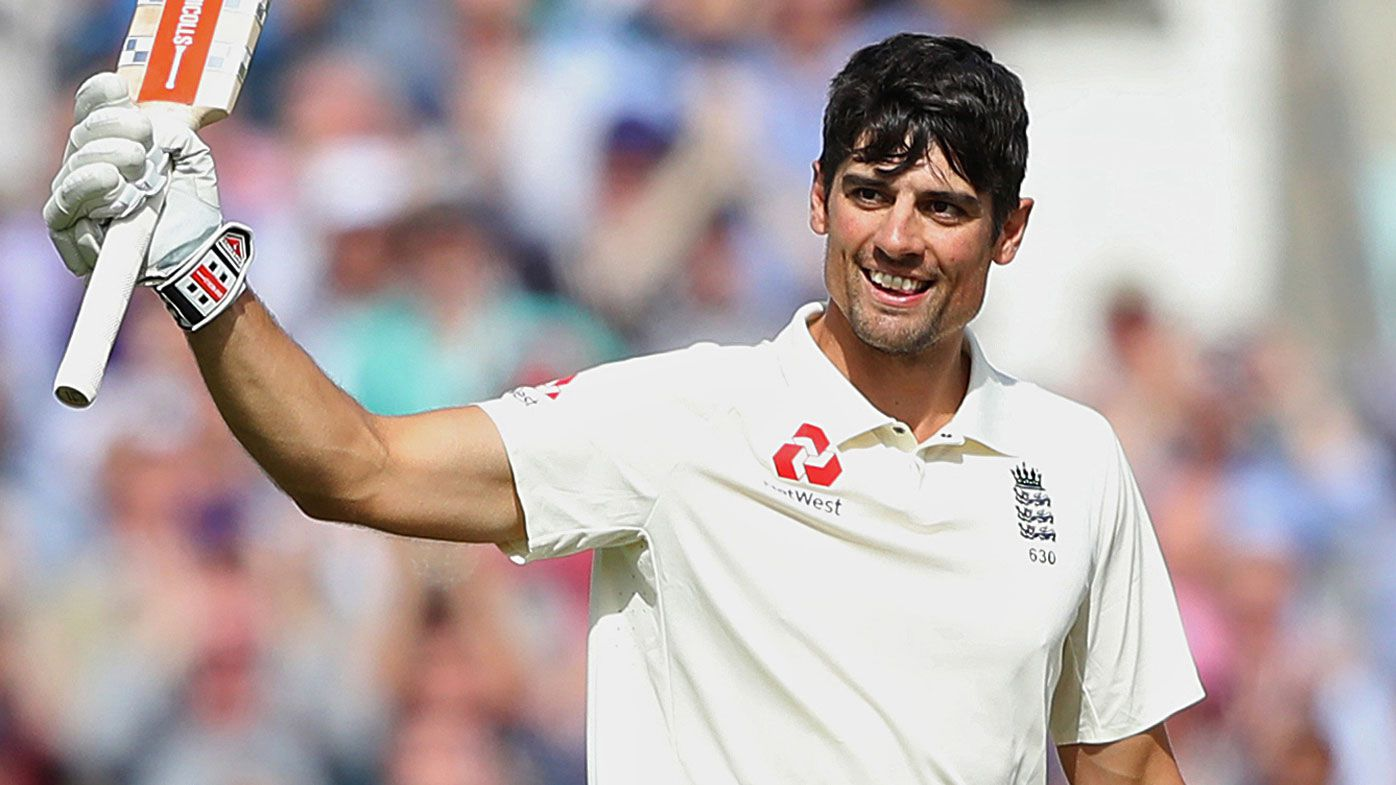 Former England cricket captain Alastair Cook receives knighthood