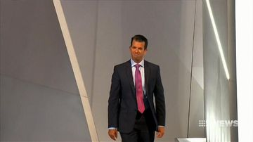 Donald Trump Jr says Russian collusion claims are ridiculous and overplayed