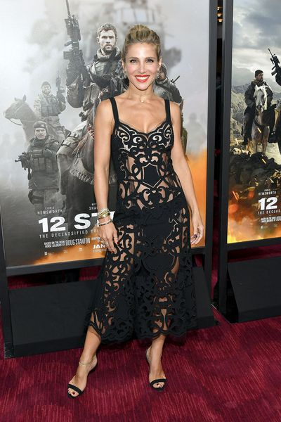 Elsa Pataky at the 12 Strong world premiere in New York, 2018