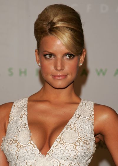 Jessica Simpson at the 2006 CFDA Awards in New York, June, 2006