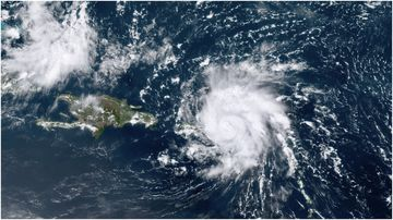 Florida is bracing for Tropical Storm Dorian to hit the US coast this weekend.