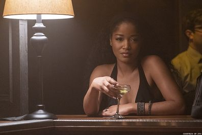 Keke Palmer as Mercedes in Hustlers.