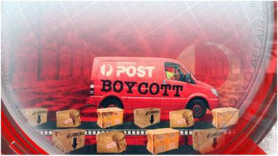 An Aussie grandma is travelling across the country to ensure Australia Post don't stuff up her Christmas deliveries.
