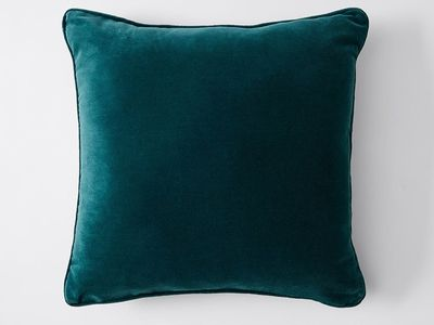 Target — Velvet Cushion (Teal)