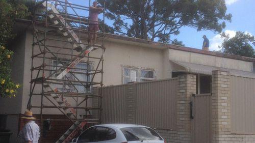 Three Irish tradies sold roofing work door to door.