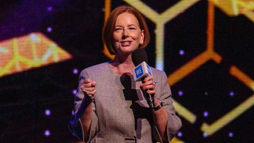Julia Gillard said she regrets not confronting sexist and gender comments in her younger days as a parliamentarian.