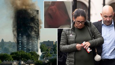 Harrowing Grenfell call: 'Goodbye I hope I haven't disappointed you'