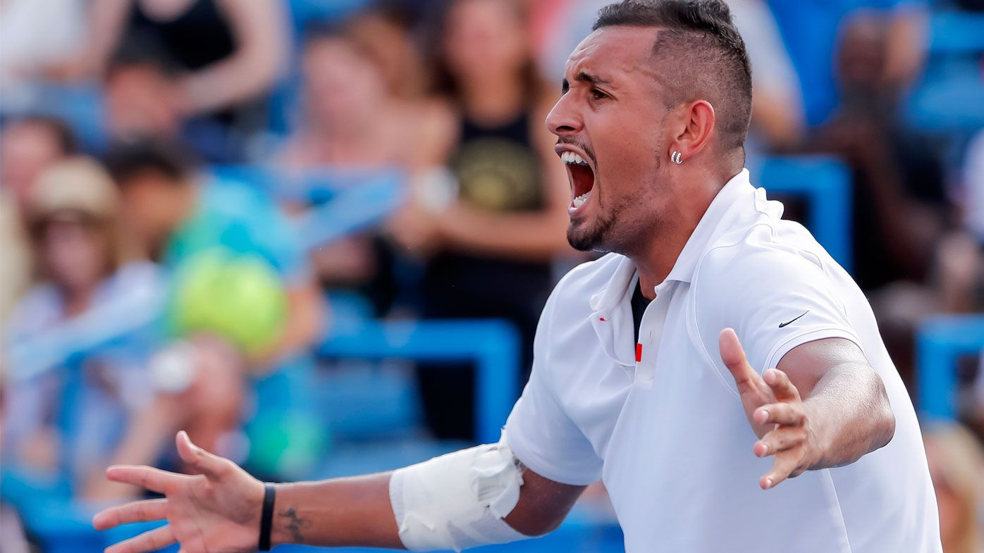 Nick Kyrgios greenlit for US Open campaign after record fine for outburst