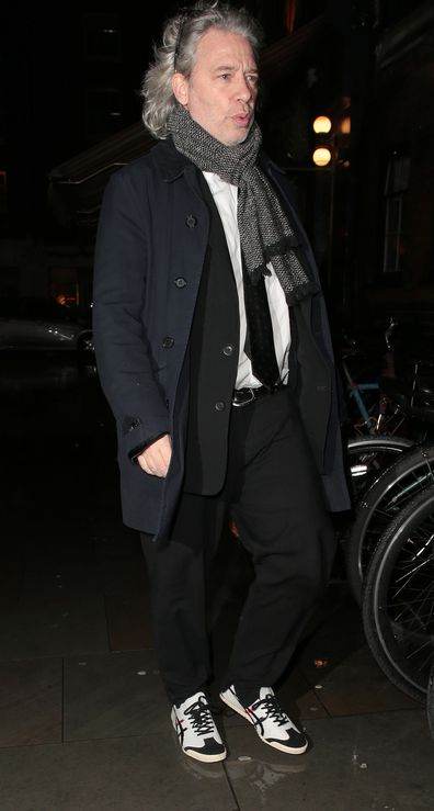 Dexter Fletcher at Princess Beatrice and Edoardo Mapelli Mozzi engagement party at Chiltern Firehouse London