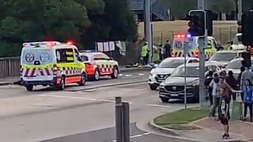 Motorcyclist critical after crash in Sydney's Inner West