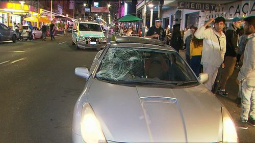 Two women were injured when they stepped in front of a vehicle in Adelaide.Photo: Supplied