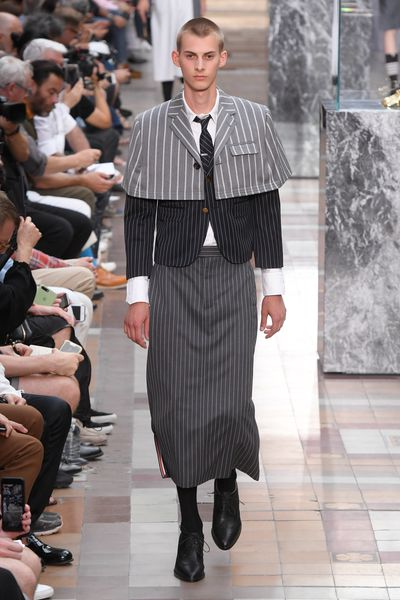 <p>Thom Browne, menswear, spring '18, Paris</p> <p> </p>
