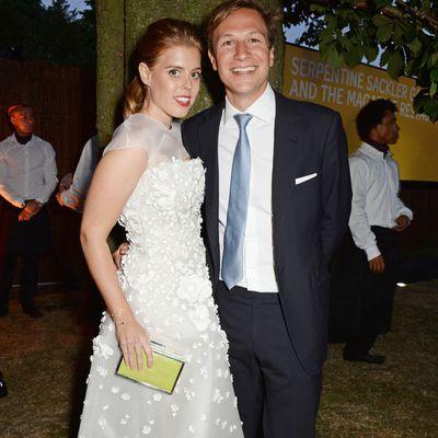 Princess Beatrice with ex boyfriend, Dave Clark