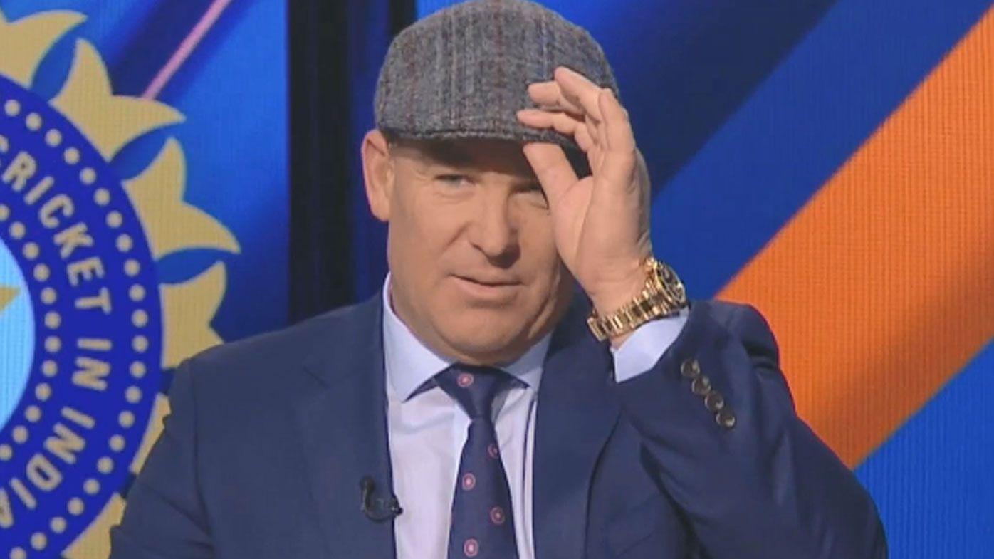 Shane Warne reveals 'inspiration' behind Peaky Blinders-styled hat