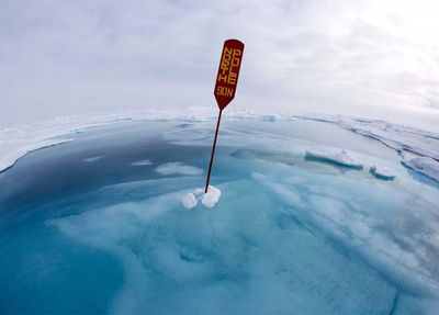 Science Photographer of the Year Climate Winner: North Pole Under Water