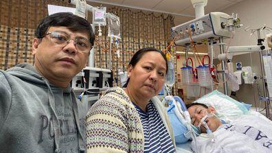 Teenager hospital brain bleed