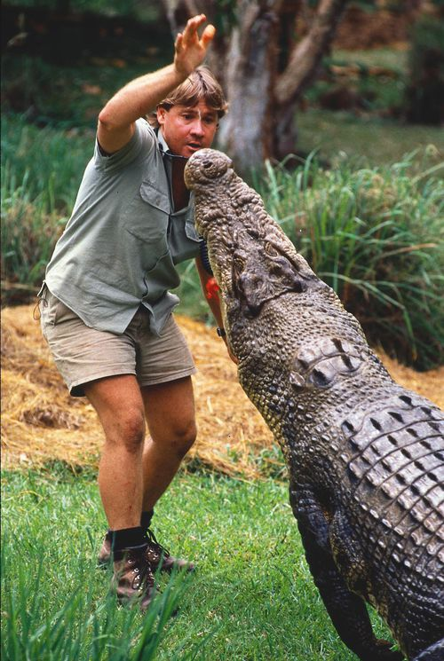 Steve Irwin, the Crocodile Hunter.
