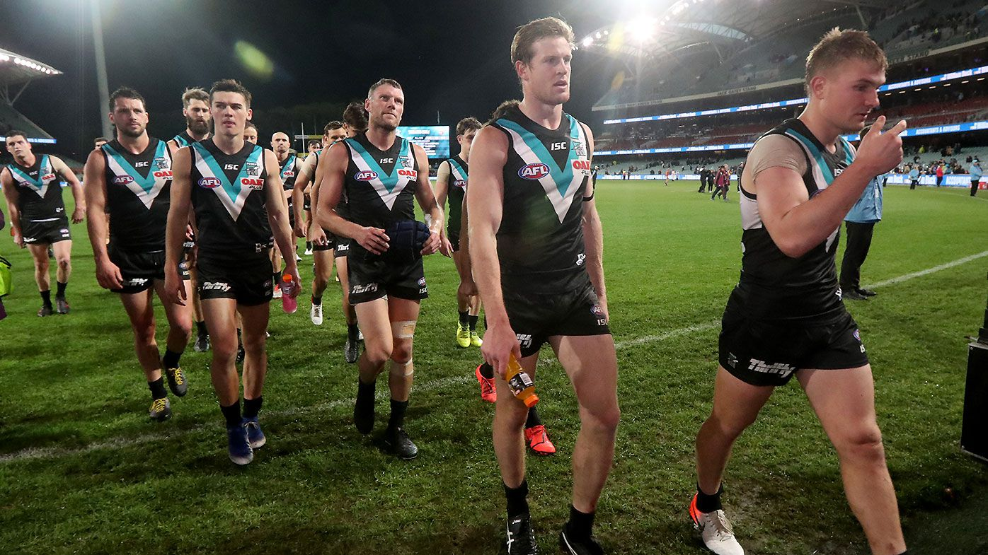 'They try and manufacture': AFL legends slam 'rubbish' Port Adelaide attempt to bully Lachie Neale