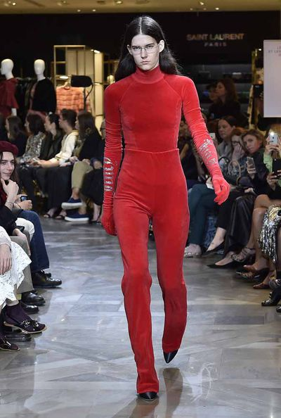 <p>Never one to walk the line, label of the moment Vetements used its Haute Couture invitation as an opportunity to show its Spring 2017 collection instead. The unconventional approach didn't end there. The pieces themselves were cut from the same weird and wonderfully bizarre cloth we've come to expect from the collective, and the designers collaborated with no fewer than 18 other brands to create the looks. Partnerships with labels as varied as Manolo Blahnik, Juicy Couture (yes, the label behind Paris Hilton's early 00s uniform), Brioni and Champion sealed the gleefully subversive approach to merging high and low.</p>
