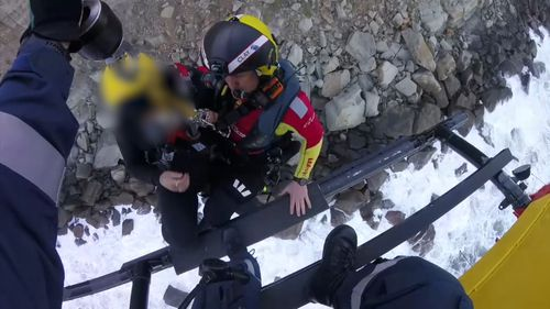 Two women and a girl had to be rescued by the Figure 8 Pools in the Royal National Park.