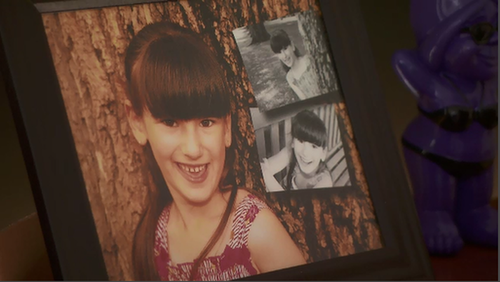 Ms Saunders shared precious images of her daughter. (9NEWS)