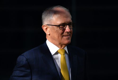 It comes amid talk Mr Turnbull will face a leadership challenge before the end of the year from his home affairs minister.