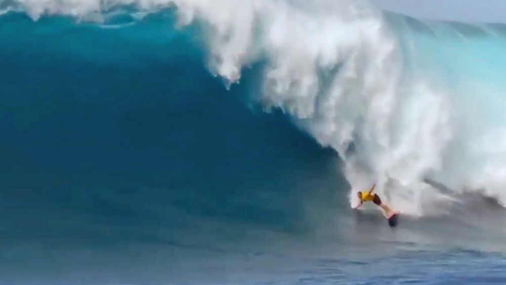 Surfing: Ian Walsh conquers Big Wave Tour Pe'Ahi Challenge