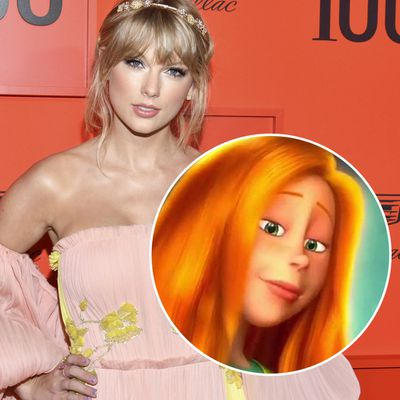 Taylor Swift as Audrey in The Lorax