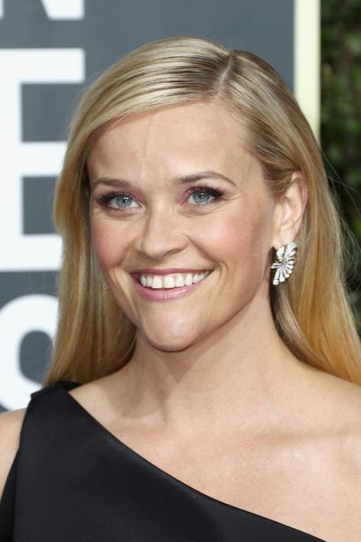 Arguably one of the most vocal supporters of the Time's Up movement, the very proud Reese Witherspoon worked the red carpet in her black Zac Posen gown, but it was <em>those</em> lashes we couldn't take our eyes off.
