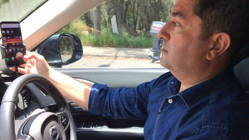 Remo Behdasht's app aims to stop drivers checking their phones while driving once and for all.