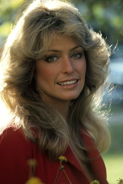 Farrah Fawcett was as famous for her flicks as her jiggles on <em>Charlie's Angels </em>in 1976.