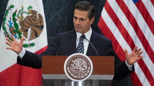 Mexican President Pena Nieto. (Getty)