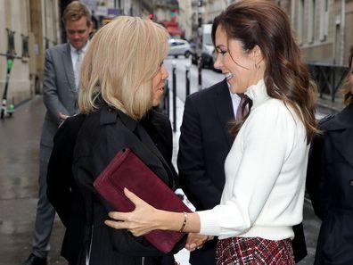 Princess Mary Paris Day 3 Brigitte Macron