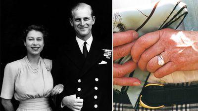 Queen Elizabeth's diamond ring