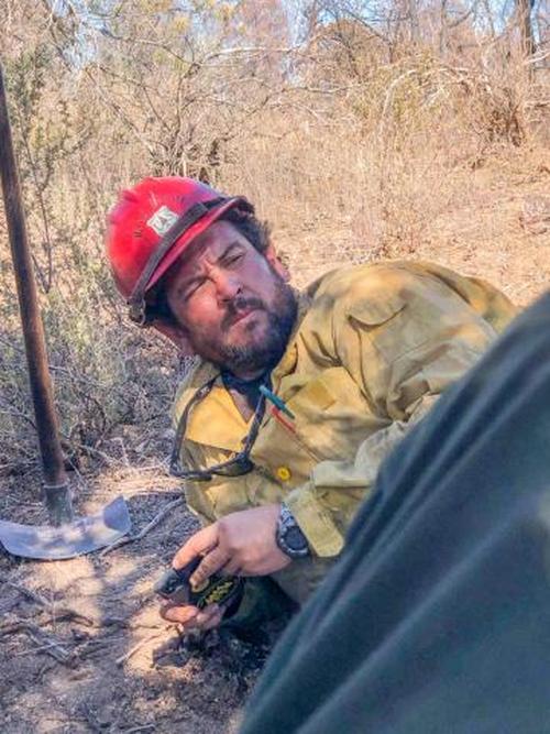 Charles Morton, a Big Bear Interagency Hotshot squad boss, died while battling the fierce blaze.