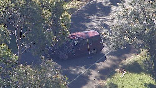 Eight people were taken to hospital following a crash at Tamborine Mountain. (9NEWS)