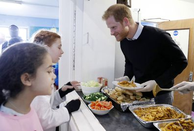 Prince Harry Fit and Fed program in London