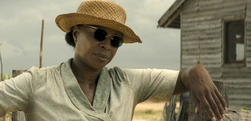 Mary J. Blige in a scene from Mudbound. (AAP)