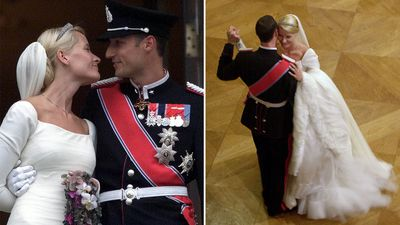 Mette-Marit Tjessem Hoiby and Crown Prince Haakon of Norway