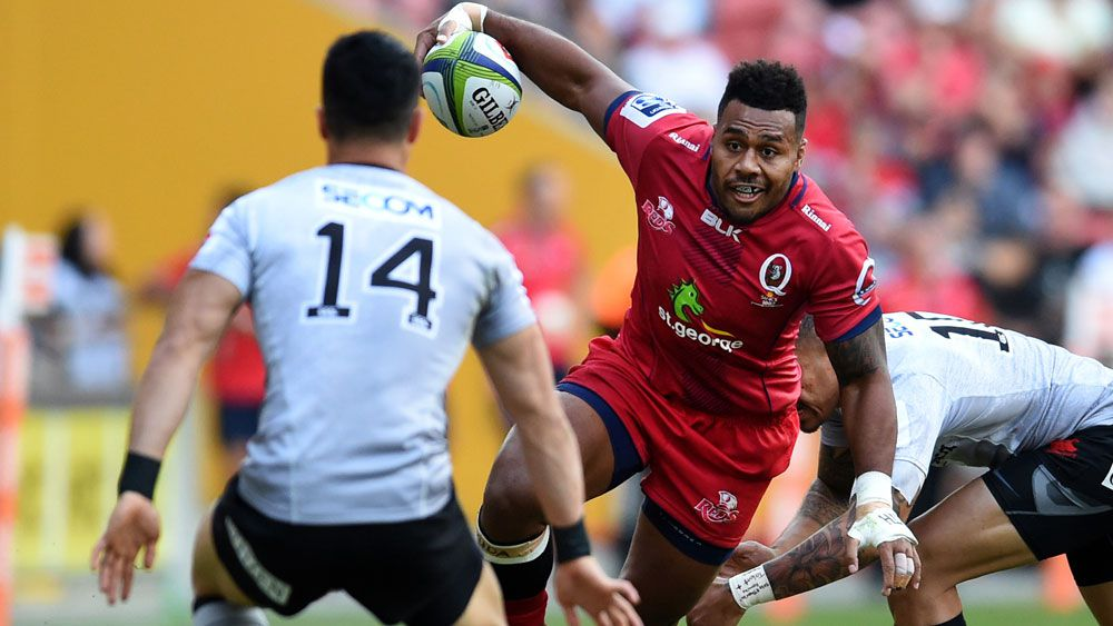 Reds hold off Sunwolves in rugby