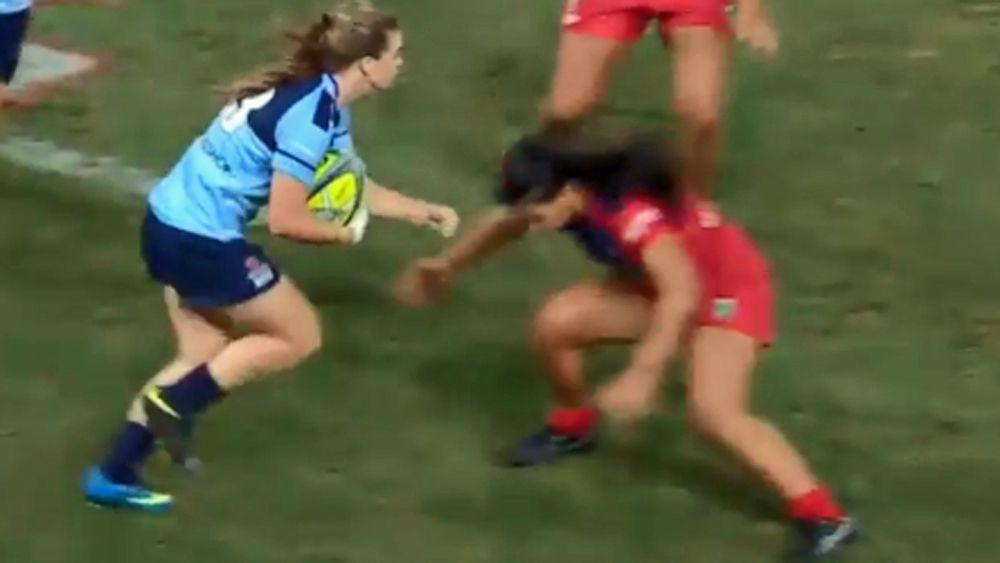 Brisbane Global Rugby Tens: Teen sensation Alysia Lefau-Fakaosilea an instant star
