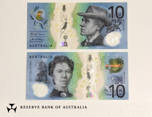The new note is in circulation from today. (RBA)