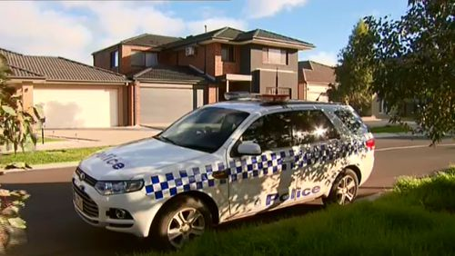 Police investigate after two cars were stolen.